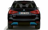 BMW iX3 black rear