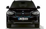 BMW iX3 black front