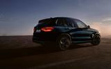 BMW iX3 black rear outside