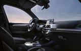 BMW iX3 black itnerior