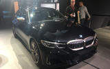 BMW M340i LA motor show reveal - front side