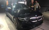 BMW M340i LA motor show reveal - front side