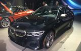 BMW M340i LA motor show reveal - front