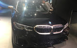 BMW M340i LA motor show reveal - nose