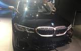 BMW M340i LA motor show reveal - nose
