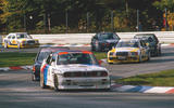 Iconic drivers Roberto Ravaglia, Johnny Cecotto and Emanuele Pirro raced the BMW M3
