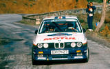 Staged success: the BMW M3 won the Tour de Corse in the 1987 World Rally Championship