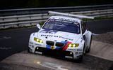 The BMW M3 GT2 took its most recent Nurburgring 24 Hours win in 2010