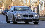 BMW M3 test mule front