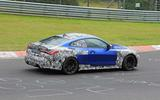 BMW M4 2020 spyshots side rear track