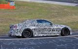 BMW M4 spyshots Nurburgring side