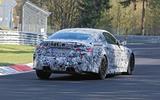 BMW M4 spyshots Nurburgring rear side