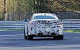 BMW M4 spyshots Nurburgring rear