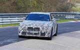 BMW M4 spyshots Nurburgring front