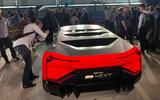 BMW Vision M next reveal rear