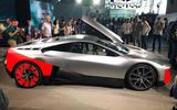 BMW Vision M next reveal side