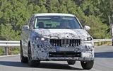 BMW X1 2022 spyshots front