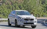 BMW X1 2022 spyshots front side