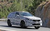 BMW X1 2022 spyshots side front