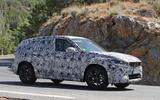 BMW X1 2022 spyshots side
