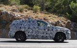 BMW X1 2022 spyshots side on
