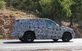 BMW X1 2022 spyshots side rear