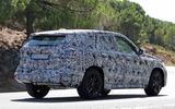 BMW X1 2022 spyshots rear side