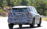 BMW X1 2022 spyshots rear close