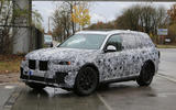 2018 BMW X7 spotted testing
