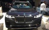 BMW X7 at the LA motor show - nose