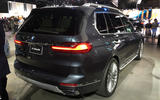 BMW X7 at the LA motor show - rear