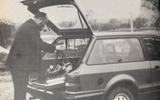 1980 Ford Escort Estate 1.6 L tailgate