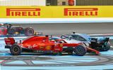 Sebastian Vettel clashes with Valtteri Bottas