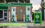 BP Chargemaster 150kW charging points at BP Cranford