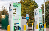 BP Chargemaster 150kW charging points at BP Cranford