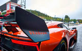 Brabham BT62 Competition specification cornering spoiler