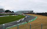 Brands Hatch Superprix crowd