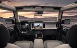 Ford Bronco interior