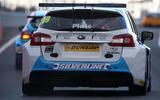 BTCC 2016 Subaru Levorg Jason Plato