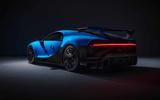 Bugatti Chiron Pur Sport rear studio