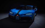 Bugatti Chiron Pur Sport front close studio