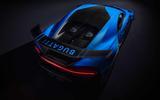 Bugatti Chiron Pur Sport rear high studio
