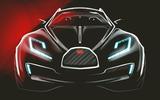 Bugatti SUV front end sketch