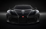Bugatti La Voiture Noire official press photos - nose