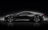 Bugatti La Voiture Noire official press photos - side