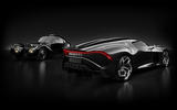 Bugatti La Voiture Noire official press photos - original with homage