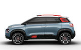 Citroen C-Aircross concept side profile
