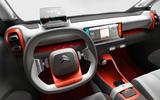 Citroen C-Aircross concept interior