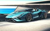 2020 Lamborghini Sian Roadster - front