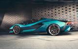 2020 Lamborghini Sian Roadster - side